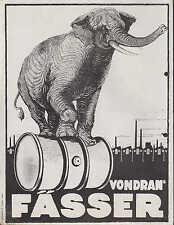 HALLE/SAALE, Werbung 1923 für Fässer u. Schutzgas-Anlagen, Maschinenfab. Vondran