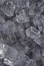 50  1 x 2 CLEAR LEGO BRICKS 1x2 TRANSLUCENT GLASS - WINDOW- No 3065 (3004)