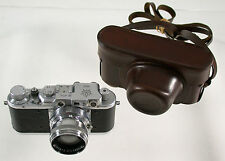 TSVVS no. 454 1950 rarest rangefinder brass Messing russian airforce Sonnar 2/50