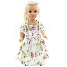 "Fits 18"" American Girl Madame Alexander Handmade Doll Clothes dress MG050"