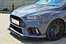 Cup Spoilerlippe Ford Focus MK3 RS Lippe Front Diffusor Ansatz schwert V3 Matt