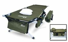 Outdoor Portable Folding Cot Military & Pillow Storage Bag Bed Camping Hiking