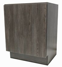 "24"" European Style Bathroom Vanity Plywood Door Cabinet Walnut Wood pattern"