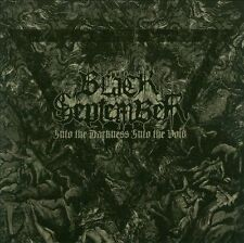 BLACK SEPTEMBER-INTO THE DARKNESS, INTO THE VOID  CD NEW
