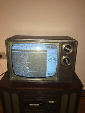 "Vintage Zenith Portable 1985 13""Tube TV Model BT121W3"