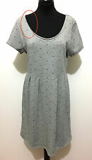 SUN68 Abito Vestito Donna Cotone Pois Cotton Woman Dress