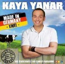 """KAYA YANAR """"MADE IN GERMANY LIVE"""" CD NEUWARE"""
