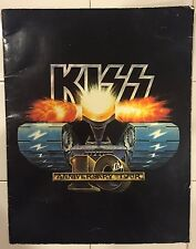 KISS 10TH ANNIVERSARY CREATURES TOUR BOOK CONCERT 1982 / 1983 PROGRAM RARE