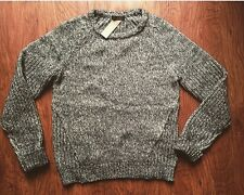 Jcrew Marled Pullover Sweater Olive S NEW Madewell Knit Top NWT Small $98 Wool