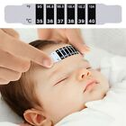 1pc Baby Kids Forehead Strip Head Thermometer Fever Body Temperature Test OE