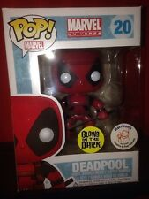 Harrison's Exclusive GITD Marvel: Deadpool funko pop