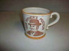 Vintage YOUR FATHER'S MUSTACHE Shaving Mug Cup Japan
