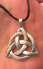 �� IRISH VIKING,CELTIC TRIQUETRA KNOT PENDANT & NECKLACE CHOICES, CHAIN ETC..