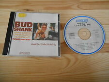 CD Jazz Bud Shank - I Told You So  / Live at Birdland (7 Song) CANDID DA MUSIC