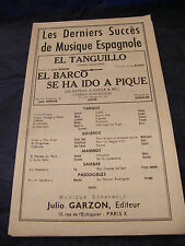 Partition El Barco Richit Se ha ido a pique Rosalès Music Sheet