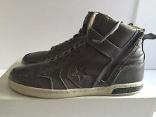 CONVERSE X JOHN VARVATOS WEAPON ZIP HI 139953C CHARC/TUR LEATHER SNEAKERS US 12