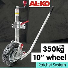 10in RATCHET JOCKEY WHEEL CARAVAN TRAILER CAMPER BOAT
