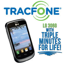 LG 306G Tracfone with (3x) Triple Minutes for Life! NO CONTRACT Prepaid Phone