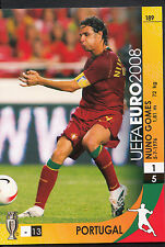 Football Card - Panini UEFA Euro 2008 - No 189 - Portugal - Nuno Gomes