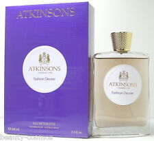 Atkinsons Fashion Decree  100 ml EDT Spray  Neu  OVP