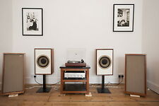 """Tannoy 10 inch Monitor Gold 10"""" in modified and refinished cabinets"""