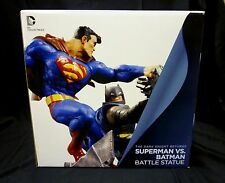 Batman VS Superman Frank Miller Dark Knight Returns DC Comics Statue New