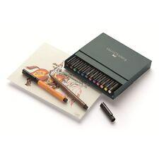 Faber Castell Tuschestift PITT artist pen B 12er Atelierbox   167146