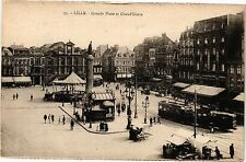 CPA  Lille - Grande Place et Grand' Garie  (204003)