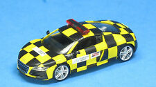Herpa 1/87 HO Audi R8 Hannover Airport Follow Me Support Vehicle 915878