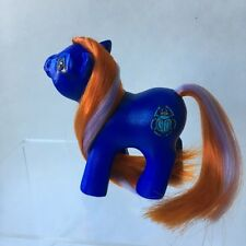 Custom Baby MLP My Little Pony - Blue Egyptian Scarab By Sweetlittlejenny