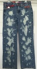 "New Junior's Request Stonewashed Crop Jeans Size 25 Inseam 24"" Above the Ankle"