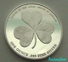 2016 Irish Shamrock Round - 1 oz .999 Silver Uncirculated