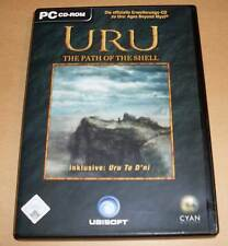 PC Game Spiel - URU - The Path of the Shell inkl. Uru To D'ni (Ages Beyond Myst)