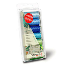 Gutermann 100 Percent Viscose Rayon 40 Machine Embroidery Thread Set, Paradise