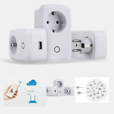 Smart Wireless Security Remote Control Switch Timer Wifi Plug Power Socket EU