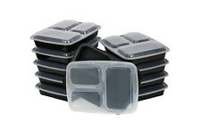 Portion Control Containers 10pc Weight Loss Diet Tools BPA Free Food Plates Size