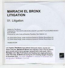 (FL42) Mariachi El Bronx, Litigation - 2009 DJ CD
