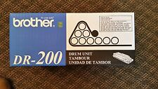 Brother DR 200 Drum Unit - new sealed box! Genuine Brother.