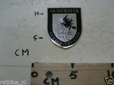 STICKER,DECAL OUDEWATER HEKSEN VRY STAD NOT 100 % OK
