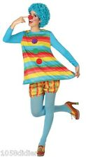 Déguisement Femme Clown M/L 40/42 Costume Adulte Cirque
