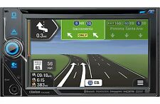 "Clarion NX405 DVD Navigation Receiver W/ 6"" Touchscreen Display"