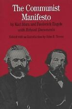 The Communist Manifesto: With Related Documents Bedford Series in History & Cul