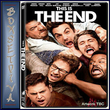 THIS IS THE END - Seth Rogen & James Franco **BRAND NEW DVD  **