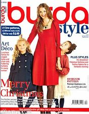 Burda Style UK Mag 12/2014 Art Deco Robin Hood Christmas PJ's -17 Uncut Patterns