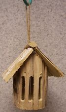 Garden Butterfly House Rusric NEW Rough Hewn Wood