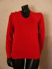 LOUIS VUITTON red cashmere long sleeve sweater NEW WITH TAGS! size LARGE