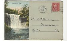 1928 Souvenir Postcard Folder- Greetings from Minneapolis, Minn.  12 Views.