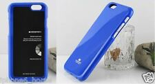 Genuine MERCURY Goospery Blue Soft Jelly Skin Case Cover For Apple iPhone 6/6s
