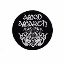 Embroidered Patch Iron Sew Logo Custom Amon Amarth metal rock band