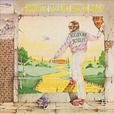 ELTON JOHN 'GOODBYE YELLOW BRICK ROAD' LP VINYL - NEW  / FACTORY SEALED